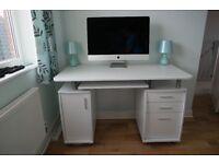 Computer Desk - White - 1200mm
