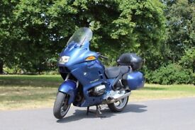 1996 BMW RT 1100 WITH FULL BMW LUGGAGE