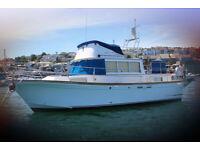 Corvette 32 Classique 130 Motorboat / Trawler - Ideal Liveaboard Cruiser