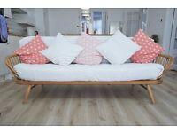 Ercol Studio Couch / Day bed, mid century retro