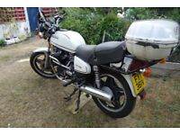 Rare white US import CX500C bulletproof reliable just failed MOT needs ?250 to be spent to pass
