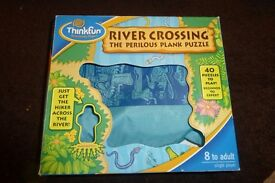 River Crossing The Perilous Plank Puzzle Children's Game, See Information, Histon
