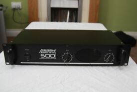 Carlsbro Powerline 500 Amplifier