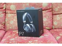Bowers & Wilkins P7 Wired Headphones - Black