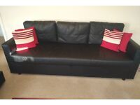 LEAVING COUNTRY!! Ikea Three Seat Sofa Bed with Storage