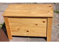 Pine Storage / Toy / Blanket Box