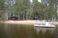 Beachfront Cottage Rentals - Barry's Bay, Algonquin,Kaszuby Area
