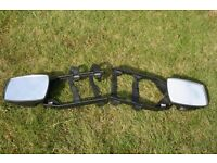Towing Mirrors, for Towing Caravans, etc.