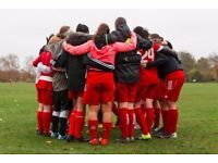 SOUTH LONDON WOMENS FOOTBALL CLUB NEW PLAYERS WELCOME ladies international female soccer team trial