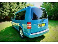 VW Caddy Maxi C20 Life BL TE. Cruise control. Camper van. 7 seater. Bluemotion TDI