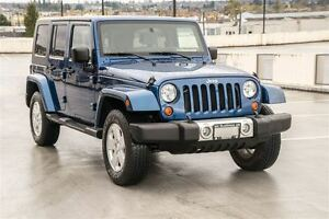 2009 Jeep WRANGLER UNLIMITED Sahara-Coquitlam location