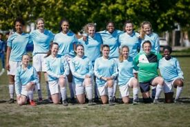 NEW PLAYERS WANTED - LONDON WOMENS FOOTBALL CLUB ladies female soccer team competitive training
