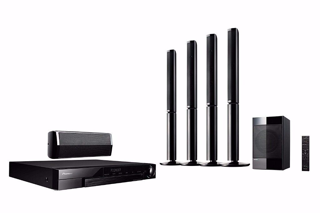 Garage clearance - Pioneer Blu-Ray 3D MCS-737 5.1 Home Cinema System New speakers only !!