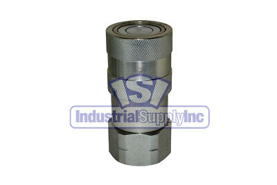 Quick Coupler Iso 16028 Flat Face Female 12 Coupler X 34 Npt
