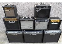 AMP AMPS AMPLIFIER AMPLIFIERS, SWAP WITH GUITARS OR HARD CASES.