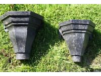 Vintage Hopper Heads for use as planters