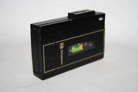 Vintage Genuine Dictaphone Model 2250 Black Metal Body Build in Speaker + FREE