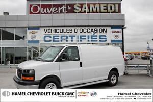 2017 GMC Savana GROUPE CHROME*REG DE VITESSE*SEPARATEUR DE CABIN