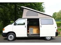 VW T4 Camper 2003 Fully fitted Low mileage Pop-up roof