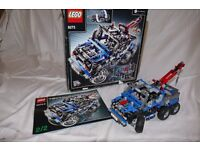 LEGO TECHNIC 8273. OFF-ROAD TRUCK. RETIRED. Complete with box and instructions