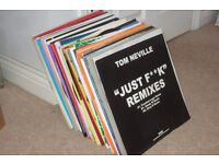 """103 x 12"""" Vinyl Records Collection.. House / Funky / Deep / UK / US Quality!!"""