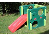 Little Tikes Junior Activity Gym / Slide in excellent condition, RRP £90