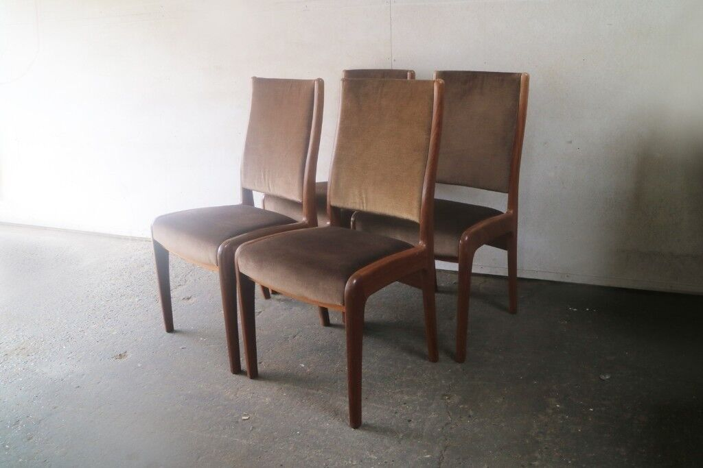 389a4086c4a52 Set of 4 G Plan 1970 s mid century dining chairs