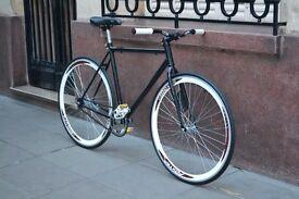 Single Speed Bicycle - Black as night