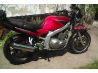 Suzuki Gs500e red
