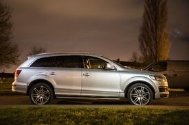 Audi Q7 4.2 TDI S Line Tiptronic Quattro 5dr, Limited edition, Brand new continental tyres