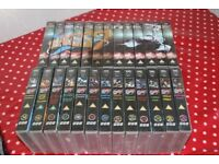 Complete Blake's 7 classic BBC sci-fi all 4 seasons on 26 videos VGC