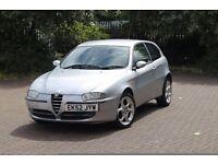 2002 Alfa Romeo 147 T Spark Lusso 1.6 silver