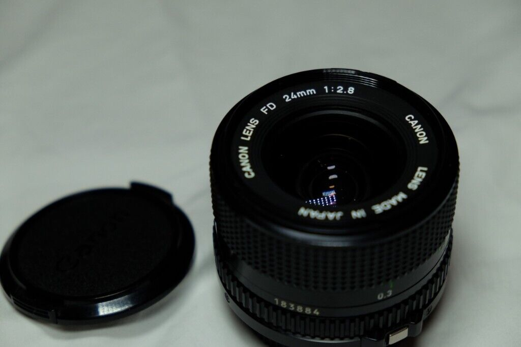 Canon New FD 24mm f2 8 Wide Angle Prime Lens Superb Condition | in  Stoke-on-Trent, Staffordshire | Gumtree