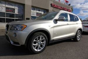 2013 BMW X3 28i XDrive. Navi. Panoramic. 360 Camera