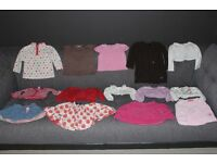 Large Bundle of Girls Clothes Aged 12-18 Months