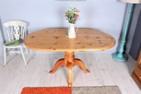 DELIVERY OPTIONS - 5 FT FARMHOUSE PINE TABLE RUSTIC SAND AND PAINT