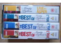 THE BEST OF MONTY PYTHON FLYING CIRCUS BOXSET VIDEOS