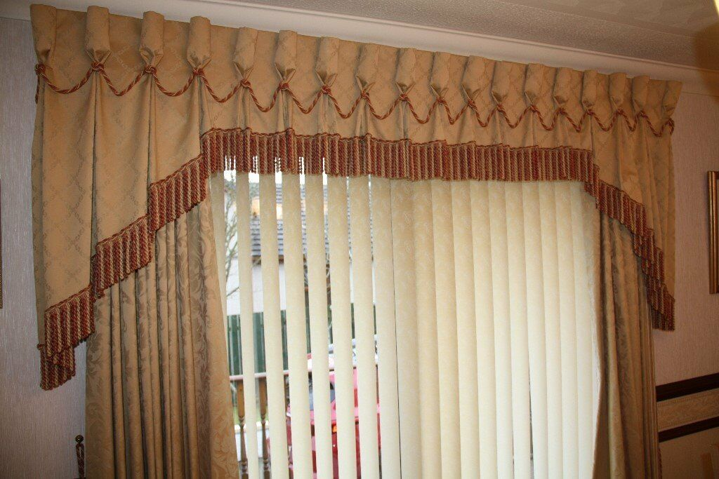 Image result for gold brocade curtains