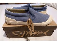 Brand New Boxed Weird Fish Canvas Shoes Size 7