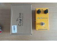 Caline Hot Mushroom Compressor Guitar Pedal