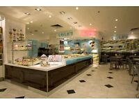 (Covent Garden) LOLAS CUPCAKES - RETAIL TEAM/SUPERVISORS/FULL/PART TIME - EXCELLENT TRAINING
