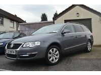 VW PASSAT 1.9 TDI LOW 96000 MILES ESTATE BLUETOOTH A/C GREAT COND LISBURN REMAPPED FOR 140 BHP