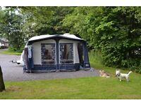 used caravan awing to fit coachman 380 caravan or similar.