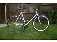 56cm Single Speed Rat Bike - Reynolds 453 Tubing and Planet X Inbred wheel set