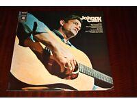 Johnny Cash Self Titled Vinyl LP Record