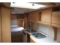 Bailey Pageant Vendee 2006 4 Berth Fixed Transverse Bed Caravan + Full Awning
