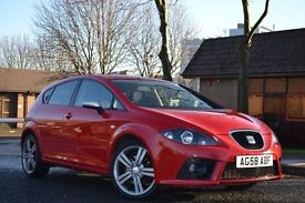 ✅NEW YEAR SALE✅ 2008 58 SEAT LEON FR TDI RED just serviced 12 months mot flywheel clutch done