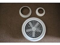 Extractor ceiling fan