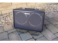 REDUCED - Roland AC-60 Acoustic Guitar Amplifier - Nearly new