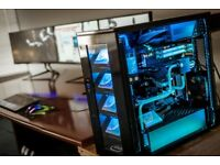 gaming pc full setups 1080ti / 1080 / 1070 Nvidia GTX - (i7 -i5 ) Only ddr4 NEW UPDATED